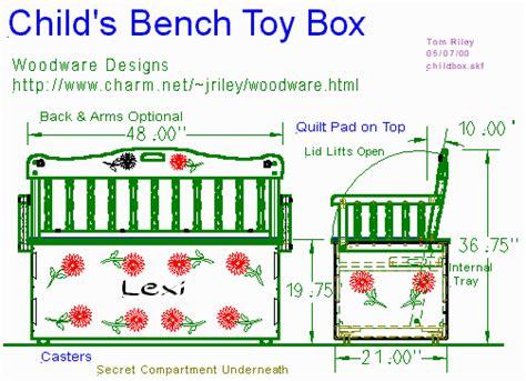 Chest Bench Plans by Chest Bench Design Diy Blueprint Plans Wood