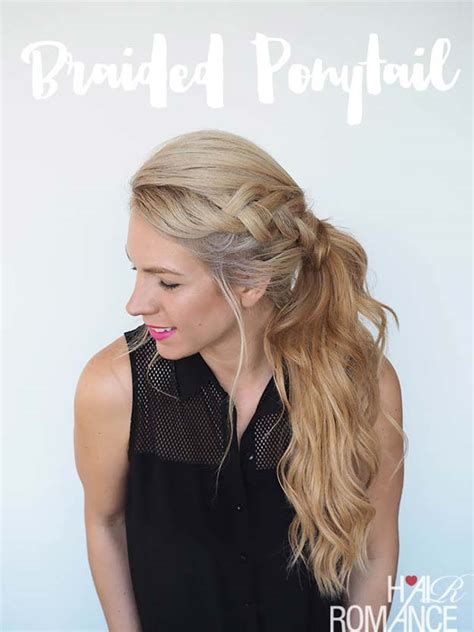 Cool Easy Ponytail Hairstyles by 41 Diy Cool Easy Hairstyles That Real Can Actually
