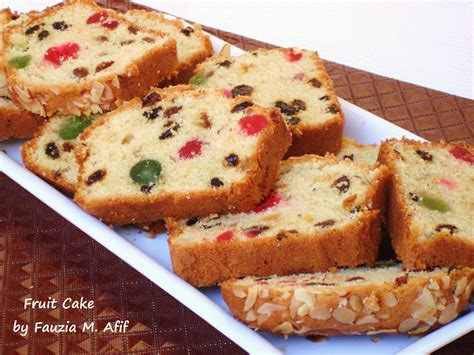 fruit cake recipe fruit cakes