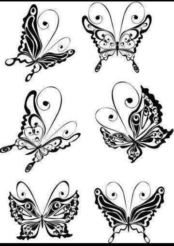 More butterflies (finger tattoos) | Butterfly tattoo designs, Butterfly outline, Finger tattoos