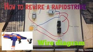 How To Rewire A Nerf Rapidstrike