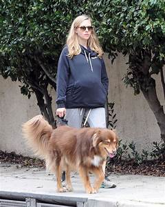 Pregnant Amanda Seyfried Takes a Stroll With her Doggy ...