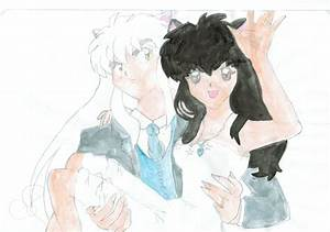 Inuyasha and kagome wedding outfit! by momopeach101 on ...