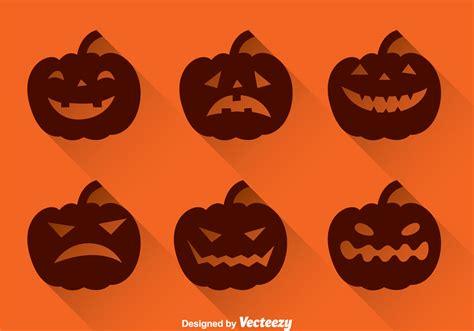 pumpkin silhouette   vector art stock