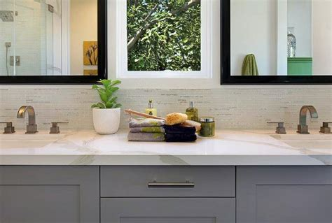 Bathroom Backsplash Ideas And Pictures by Top 70 Best Bathroom Backsplash Ideas Sink Wall Designs