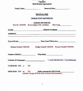 harry bossard american legion post 32 hall rental agreement With banquet hall contract template