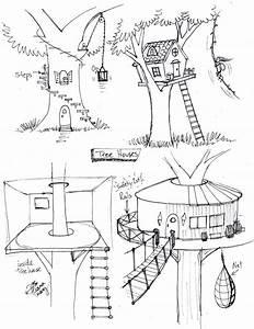Fantasy Tree Drawing At Getdrawings