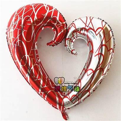 Heart Ball Shape Balloon Foil Balloons 43inch