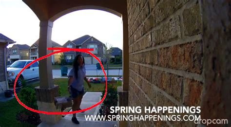 does usps deliver to your door lazy usps worker throws package onto porch tx