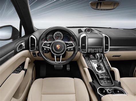 porsche suv white interior porsche cayenne turbo s 2015 cartype