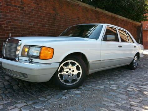 Purchase Used 1990 Mercedes Benz 300sel W126 Sedan Two
