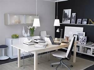 Interior, Design, Ideas, Walls, Desks, U0026, Lighting, For, Small, Offices