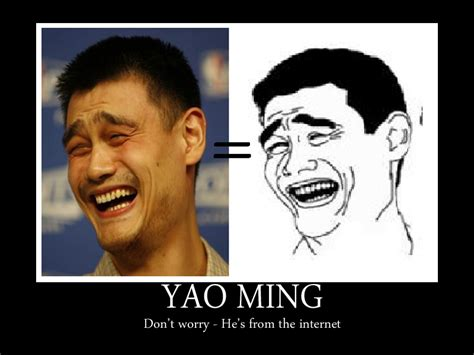 Yaoming Meme - what the heck is the rage comic talking about rise and dance