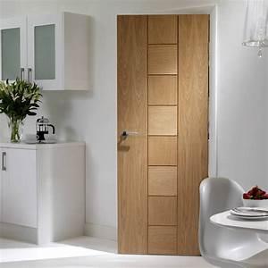 Porte En Bois Intérieur : messina oak solid door xl joinery flush doors ~ Preciouscoupons.com Idées de Décoration