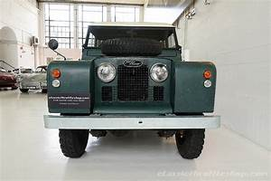 1963 Land Rover 88 Series Ii A Dark Green