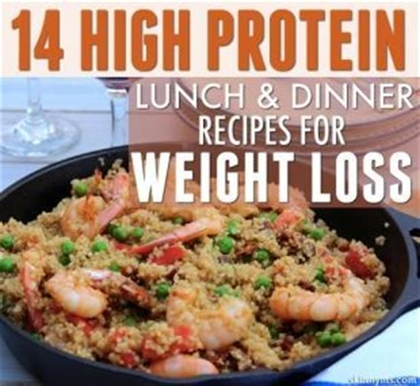 high protein lunch  dinner recipes  weight loss