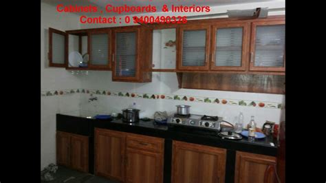 kitchen cabinets kerala models photos low cost aluminium kitchens interiors half price 8093