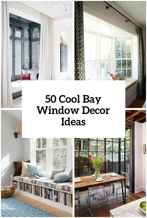 Kitchen Bay Window Decor Ideas by 50 Cool Bay Window Decorating Ideas Shelterness