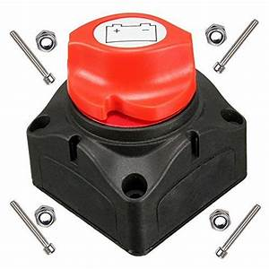 Anjoshi Battery Switch Master Isolator Cut Off Kill Switch
