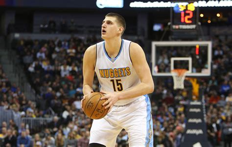 We'll figure that out as the game goes along. Nikola Jokic could be on his way to becoming the best ...