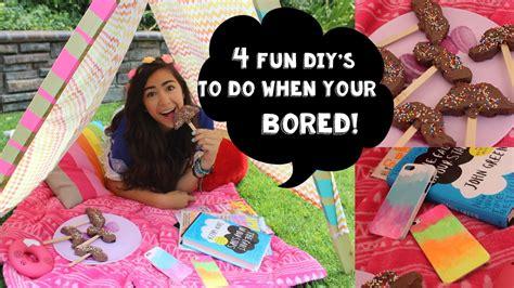fun diys    youre bored youtube