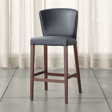 Curran Grey Bar Stool   Reviews   Crate and Barrel