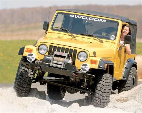 cj jeep wrangler easy jeep wrangler yj tj jk upgrades with performance