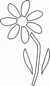 Flower Cut Out Templates - ClipArt Best