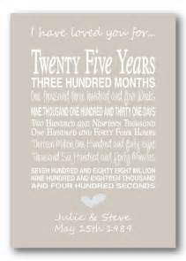 25th wedding anniversary gifts best 25 25 year anniversary gift ideas on diy 25th wedding anniversary gifts diy
