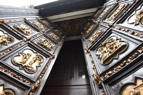 Porta Battistero Firenze by Battistero Di Firenze Sostituita La Porta Nord Ora C 232