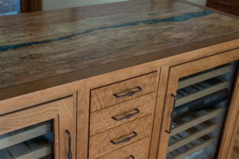 spalted maple ? D'Ireys Cabinetmakers