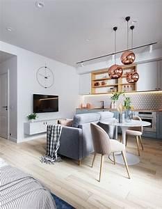 33, Amazing, Studio, Apartment, Layout, Ideas