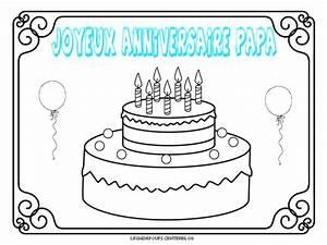 Cadeau D Anniversaire Pour Papa : coloriage joyeux anniversaire papa my blog ~ Dallasstarsshop.com Idées de Décoration