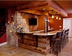 Rustic Home Bar Designs by Rustic Finished Basement Bar Man Cave Pinterest Bar Rustic And Ceilings