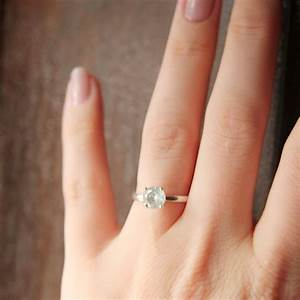 one carat solitaire diamond rings wedding promise With wedding ring 1 carat diamond