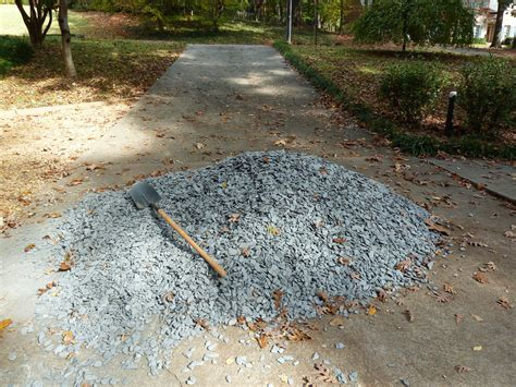 Razzle, Dazzle, Magically Travel Gravel… To The Side Yard