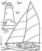 Coloring Boat Boats Pages Below Printable sketch template