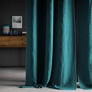 Rideau Velours Vert : rideau vert clair ~ Teatrodelosmanantiales.com Idées de Décoration