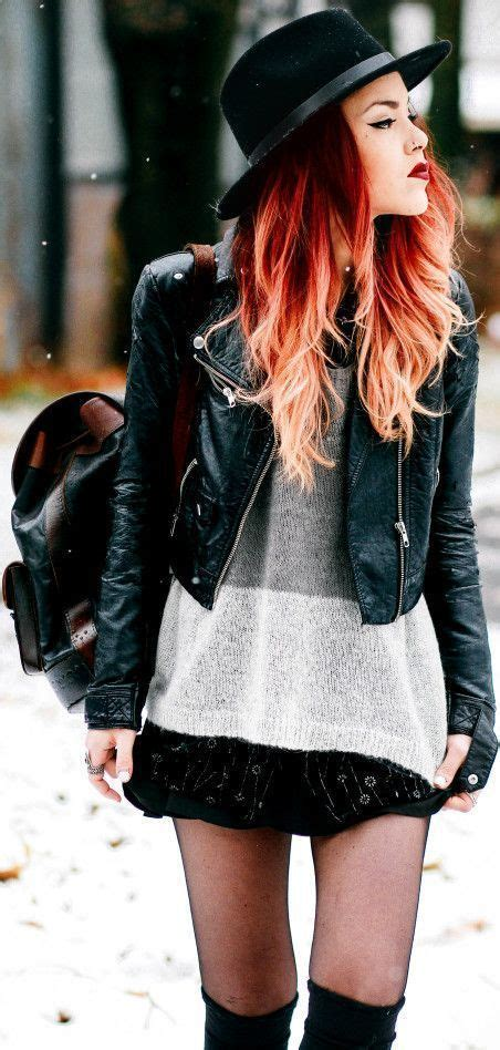 Ooh Fiery Redorange Hair With Extreme Dip Dyed Or Ombre
