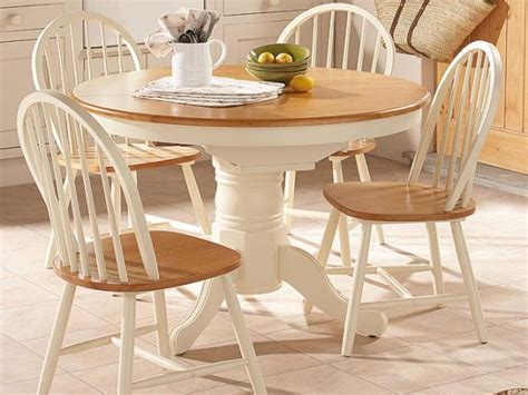 Small Round Wood Dining Table, Small Round Kitchen Tables