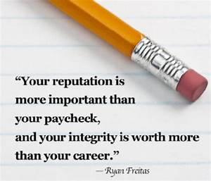 Wright Thurston... Reputation Worth Quotes