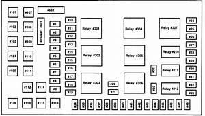 Could U Please Send Me A Fuse Box Diagram For A 2004 Ford F250 Super Duty 6 0l Diesel Crew Cab