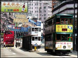 Trams In Hong Kong Transportation System Food Travel