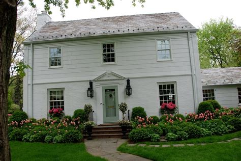 colonial house landscaping landscaping landscaping ideas colonial homes