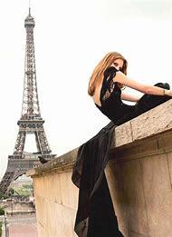 Paris Fashion Black Dress