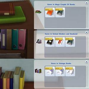 Mod The Sims: Readable Books by plasticbox • Sims 4 Downloads