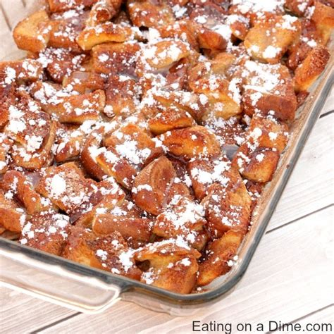 Overnight French Toast Casserole Recipe Eating Dime