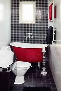 Petite Baignoire Retro : petite salle de bain 34 photos id es inspirations ~ Edinachiropracticcenter.com Idées de Décoration