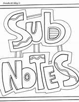 Getdrawings Classroomdoodles sketch template