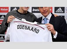 Martin Odegaard insists Real Madrid is the perfect place
